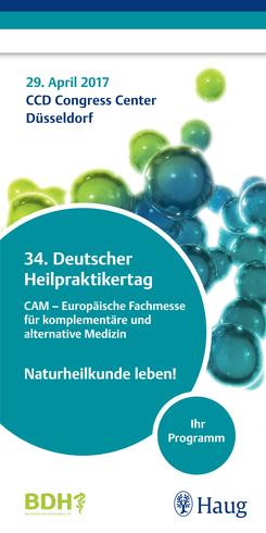 CAM - die europäischen Fachmesse für komplementäre und alternative Medizin