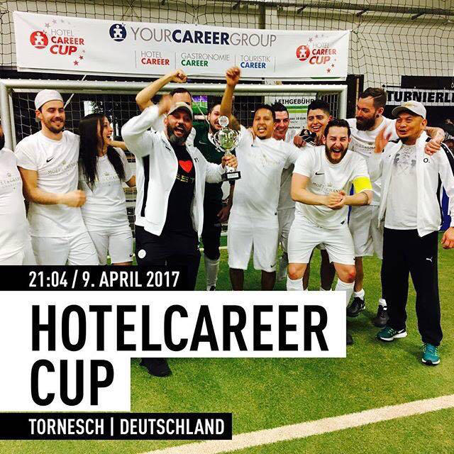 Hotel Career Cup mit Q10 Magic Power