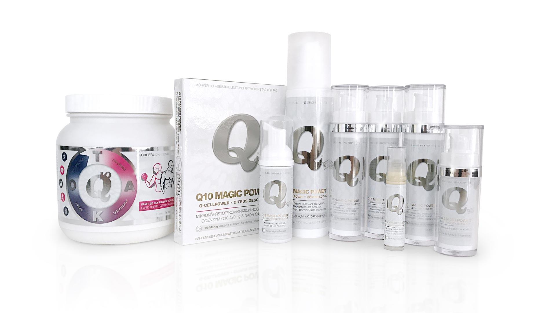Q10 Magic Power Produktfamilie