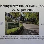 Blauer Ball 2018