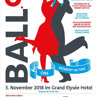 Uni ball Hamburg am 3. November 2018
