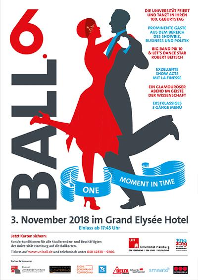 Uni ball Hamburg am 3. November 2018