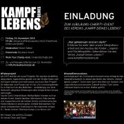 KDL-Jubiläums-Charity-Gala am 30. November2018 in Hamburg